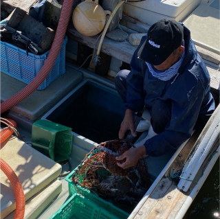 有明海の地元漁師